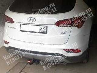 фаркоп на Hyundai Santa Fe 4258-A