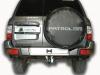 фаркоп на Nissan Patrol Y61 N123-A